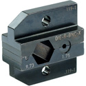Neutrik DIE-R-BNC-X Die for HX-R-BNC crimp tool with Hex Crimp size:A (9.73mm) CP (1.75mm)