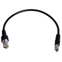 Connectronics DIN-BF-1 3G-SDI 75 Ohm DIN 1.0/2.3 Plug to BNC Female Jack Video Adapter Cable - 1 Foot