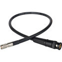 Laird DIN1505-B-1 Belden 1505A RG59 3G-SDI DIN 1.0/2.3 to BNC Male Video Adapter Cable - 1 Foot