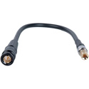 Laird DIN1694-B-3 Belden 1694A RG6 3G-SDI DIN 1.0/2.3 to BNC Male Video Adapter Cable - 3 Foot