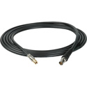 Laird DIN1694-BF-10 Belden 1694A RG6 3G-SDI DIN 1.0/2.3 to BNC Female Video Adapter Cable - 10 Foot