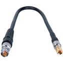 Laird DIN1694-BF-3 Belden 1694A RG6 3G-SDI DIN 1.0/2.3 to BNC Female Video Adapter Cable - 3 Foot
