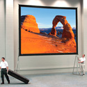 Da-Lite 92093 Da-Mat Front Projection Screen 9ft H X 16ft W Viewing Area