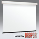 Draper 206082 Luma 2 Manual Projection Screen - 119 Inch HDTV Contrast Grey XH800E