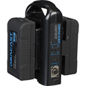 Dracast DR90A2CK 2 90 Watt Hour Gold Mount Li-Ion Batteries with Dual Charger