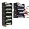 RDL DRA-35S6 STICK-ON DIN Rail Adapter - 6 Modules