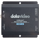 Datavideo HBT-6 Short Range HDBaseT Receiver - Receive up to 30m for 4K and 60m for 1080p Signals