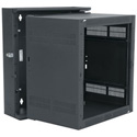 Middle Atlantic DWR-10017 10 Space Sectional Wall Rack 17 Inch Deep