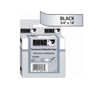 RHINO 3/4 Inch Metalized Permanent Labels 18 Ft. Roll