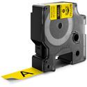 Dymo RhinoPRO 3/4 inch Yellow Flexible Nylon Labels