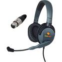 Eartec MXD4XLR/F Max 4G Double Muff Intercom Headset with 4 Pin XLR Female Connector