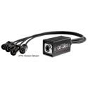 Elite Core Audio CAT-SASS-5PMD Snake System - Ethernet Breakout with 4 XLRM 5-Pin Neutrik Connectors - AES/DMX 110 Ohm