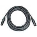 Elite Core Audio CSM2-NN Stage Grade Ultra Quiet/Ultra Durable Mic Cable - M/F XLR Neutrik NC3XX Connectors - 50 Foot