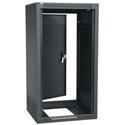 ERK-1825 18RU (31-1/2in) 25-Inch Deep Stand Alone Rack with Rear Door- Black