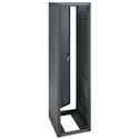 ERK-4025 40RU (70.25in) 25-Inch Deep Stand Alone Rack with Rear Door - Black