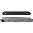 ESE ES-249/UL 1x8 ASCII RS232 Time Distribution Amplifier with UL Option UL/CSA Approved Wall Mount Power Supply
