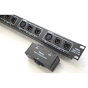ETS PA835 AES/EBU 110 Ohm Digital Audio Splitter Panel /4 Channels of PA830 /1RU