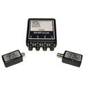 ETS PV845 Composite Video Over CAT5 Extended Baseband Video Balun Quad BNC to RJ45