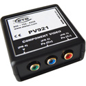 ETS PV921 Component Video Over CAT5 Balun 3 RCA (YCrCb) to RJ45