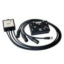 ETS SDS903 InstaMusician Balun - Receive (3) MXLR Plus (1) MBNC - 3 Ft Pigtail to RJ45 Jack