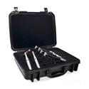 Earthworks DK7 Drum FullKit - Includes 3-SR25 3-MC1 4-DM20 4-RM1 1-KP1 KickPad & Assorted Windscreens - High Impact Case