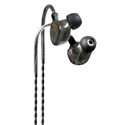 Fischer Amps FA-3 E XB Ergonomic In-Ear Earphones - Gray