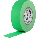 Pro Tapes 001UPCG250MFLGRN Pro Gaff Gaffers Tape FGGT-50 2 Inch x 50 Yards - Digital Key Green