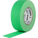 Pro Tapes 001UPCG150MFLGRN Pro Gaff Gaffers Tape FGT1-50 1 Inch x 50 Yards - Digital Key Fluorescent Green