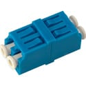LC to LC Singlemode Duplex Fiber Optic Coupler Adapter Zirconia Sleeve