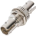 ST to ST Fiber Adapter Simplex / Singlemode with Zirconia Sleeve & Metal Thread