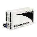 Fiberplex FOI-7280-L22 Line Level Stereo Audio Transceiver with PTT Serial Data and Controls 1310nm Multimode LC Optics