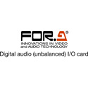 FOR-A FA-96AES-UBL AES Audio I/O Card