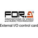 FOR-A FA-96GPI GPI I/O Expansion Card - 10 Input / 10 Output