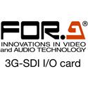 FOR-A FA-96EX3G44-R 4G and 3G-SDI I/O Card