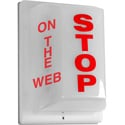 Sescom FSL-6 Triple Sided Light Non-Flashing - STOP on Front ON THE WEB on Two Sides