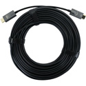 FSR DR-H2.0-15M Male to Male AOC Plenum 4K HDMI 2.0 Cable - Black - 50 Feet (15 Meter)