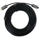 FSR DR-H2.0-50M Male to Male AOC Plenum 4K HDMI 2.0 Cable - Black - 165 Feet (50 Meter)