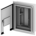 FSR OWB-X3-FM-XLR Outdoor Wall Box - Flush Mount - 4 Rows of 8 Neutrik D-1 Holes