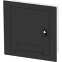 FSR WB-X2-CVR-BLK Cover w/ Lock and Cable Exit Door - Black