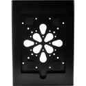 FSR WE-IPD2-BLK iPad 2 Enclosure - Mounts on 2 Gang Electrical Box - Black