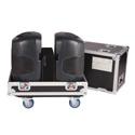 Gator G-TOUR-2X-K12 Tour Style Transport Case for 2 QSC K12 Speakers