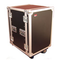 Gator G-TOUR 16U CAST 16-Space Rack Road Case w/ Locking Caster Board