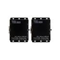 Gefen GTB-UHD2IRS-ELRPOL-BLK 4K Ultra HD ELR-POL HDMI Extender w/RS-232 and 2-way IR