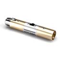 Hosa GMS-274 Microphone On/Off Switch  XLR3F to XLR3M