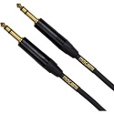 Mogami GOLD TRS-TRS-06 TRS to TRS Black with Gold Contact - 6 Foot