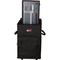 Gator GPA-720 Rolling Road Case for Powered Mixer