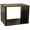 Gator GR-STUDIO-8U Black Oak Laminate MDF 8RU Studio Rack