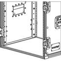 Grundorf RRR Rear Rack Rail - One Pair For The RS-18D Carpet Series Rack Shells