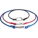 Connectronics Gaff-Sling Carabiner Gaffers Tape Holder Strap - 2 Foot Loop Red