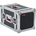 Gator G-TOUR 6UHR ATA Wood Flight Half Rack Case 6U 8 Inch Depth